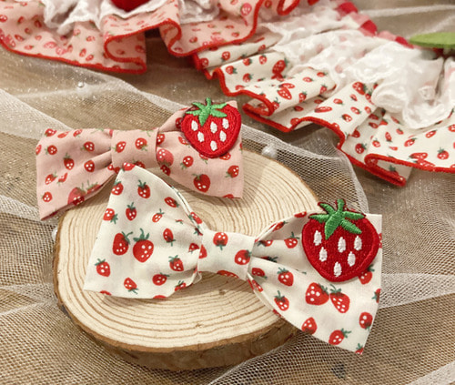Strawberry set pin